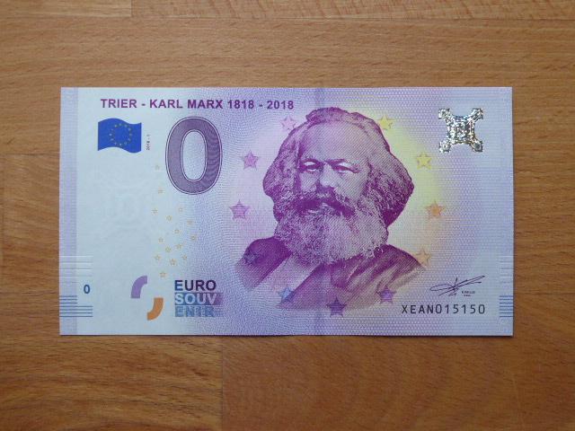 Karl Marx Geldschein